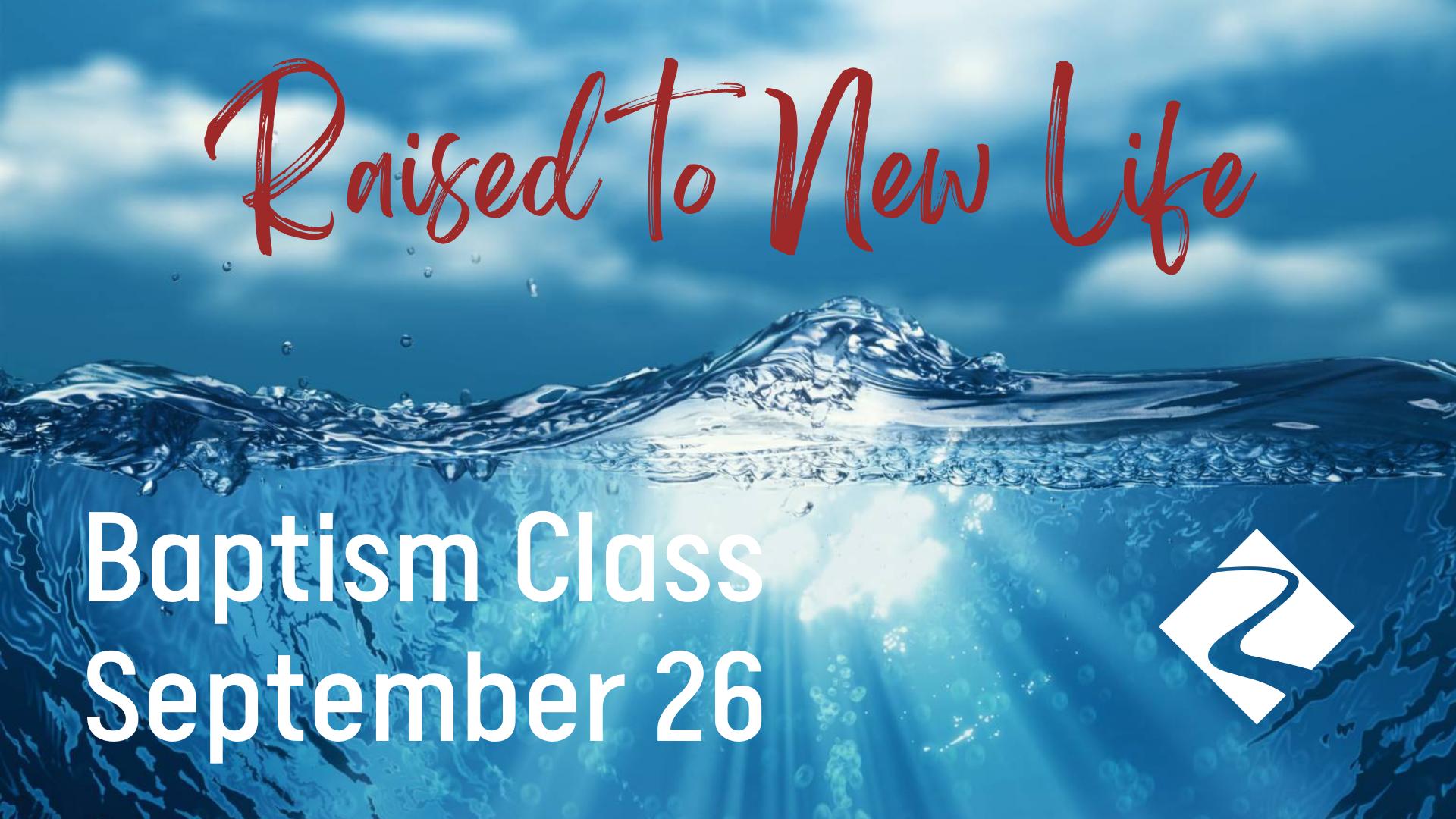 2021.09 Baptism Class