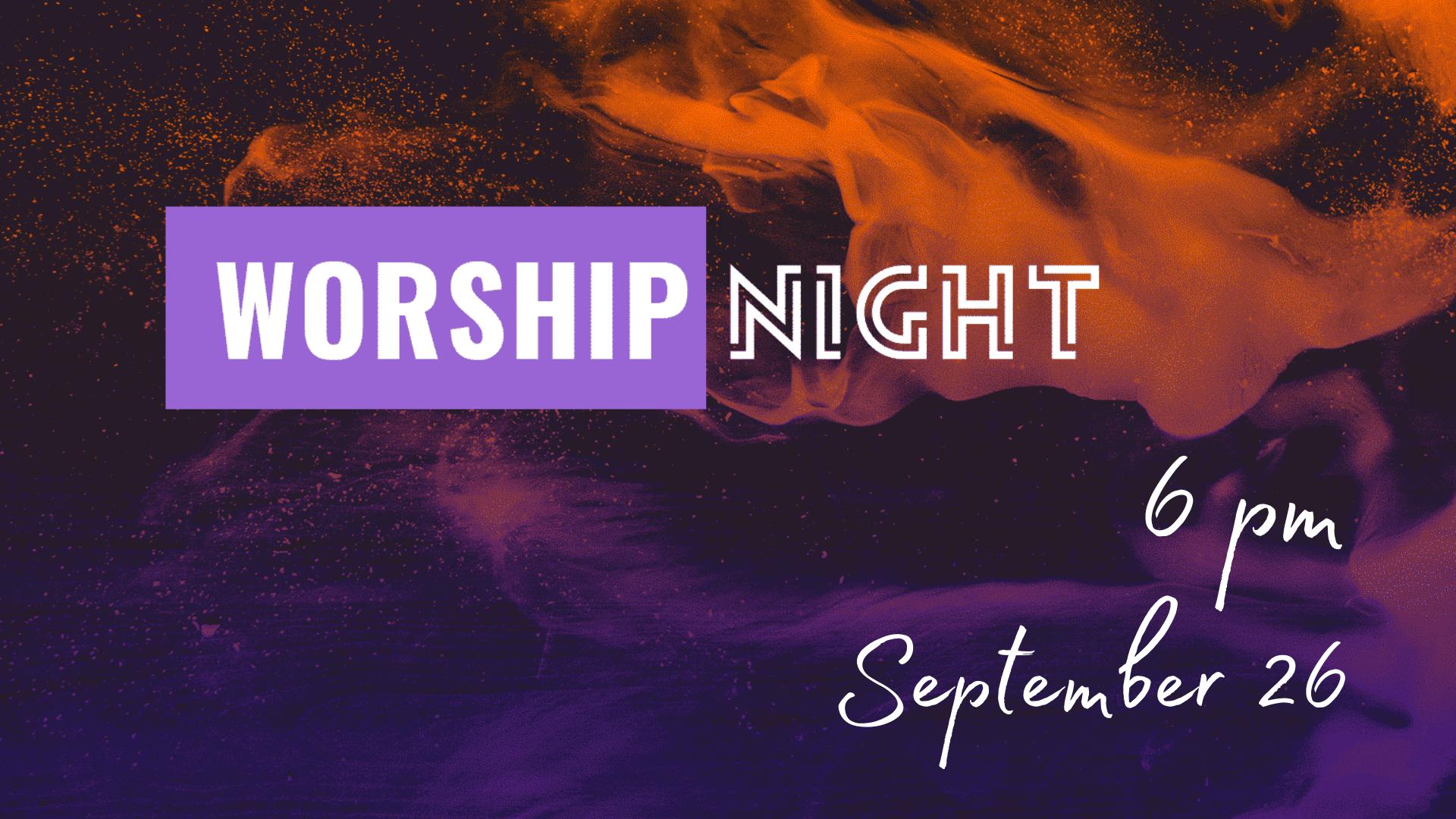 2021.09 Worship Night
